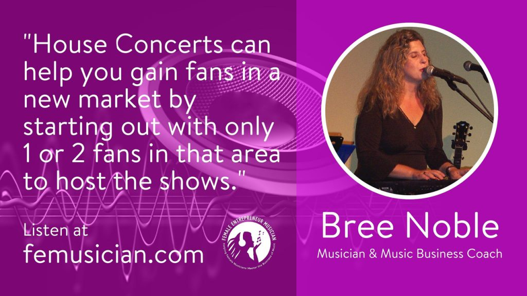 Concerts in your home