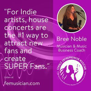 Indie Artists get super fans house concerts