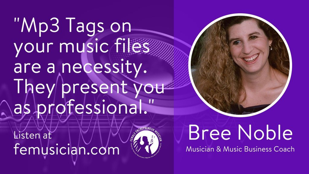 FEM25 Why And How To Create Mp3 Tags For Your Songs - Female