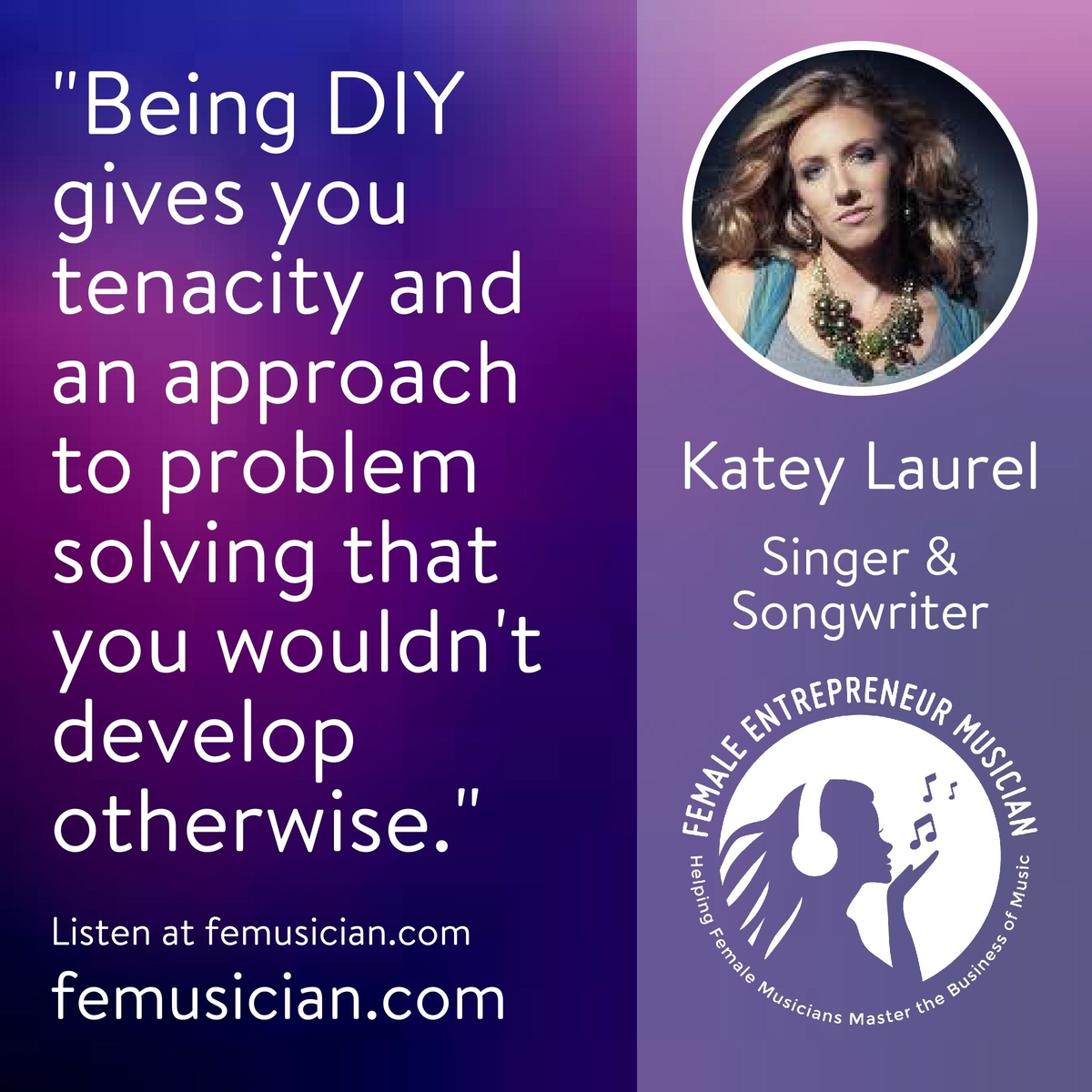 Fem30 songs as business cards for musicians with katey laurel business cards for musicians magicingreecefo Images
