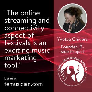 festival stream online marketing connectivity