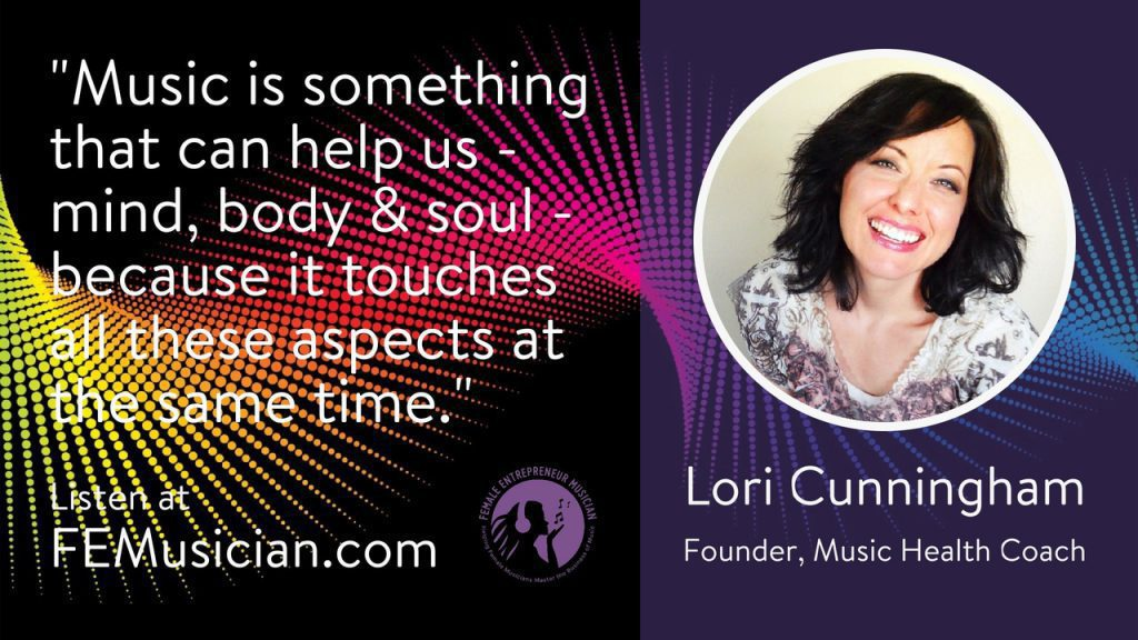 music and health lori cunningham