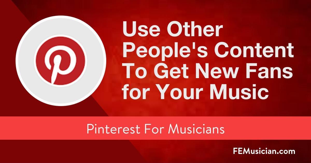 Pinterest for Musicians