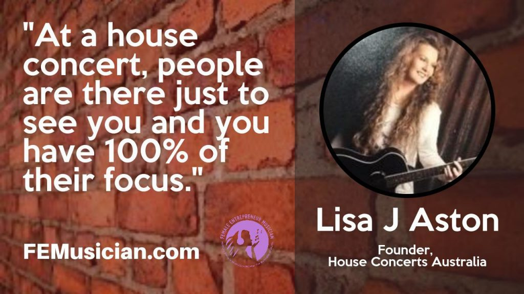 booking house concerts