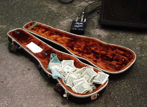 music artist income