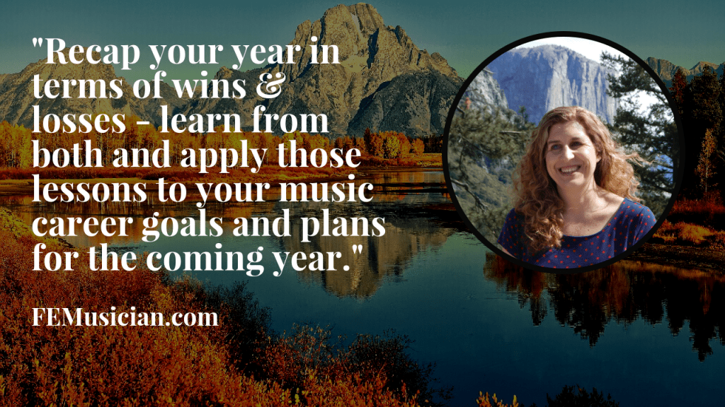 music entrepreneurs learn from your wins and losses