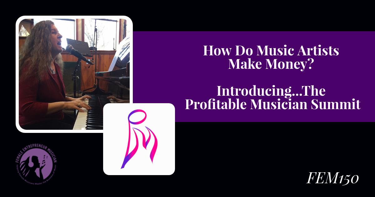how do music artists make money